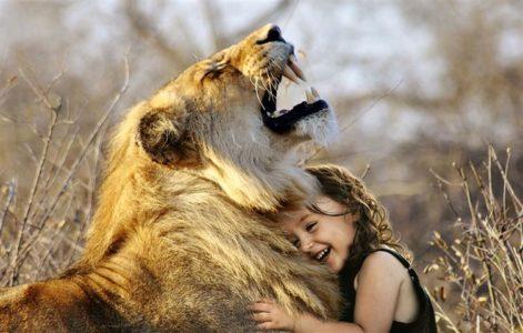 Wildlife selfie
