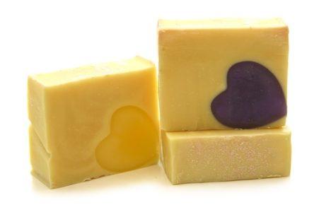 Homemade soap - eco-friendly parenting