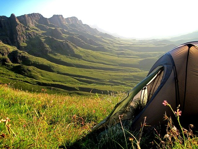 Tent - camping.